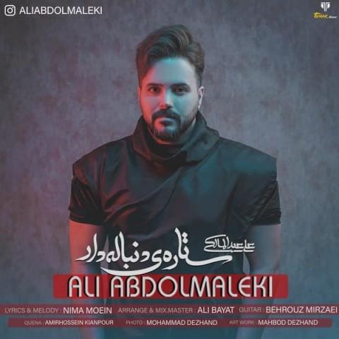 علی عبدالمالکی ستاره ی دنباله دار، دانلود آهنگ جدید علی عبدالمالکی ستاره ی دنباله دار + متن ترانه